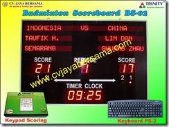 scoreboard badminton, papan skor bulutangkis