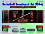 Foto Basketball Scoreboard Set BSS-03