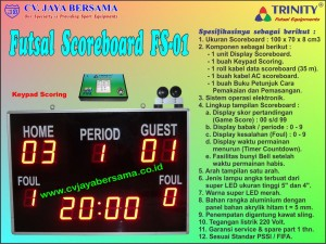Papan Skor Futsal, scoreboard futsal, scoreboard digital futsal, futsal scoreboard