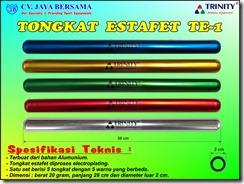 tongkat estafet, baton relay, stick relay