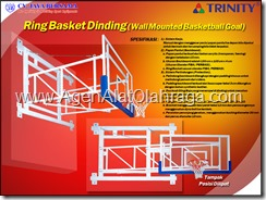 backboard basketball, backstop, pemasangan ring basket di dinding, ring basket dinding, ring basket portabel, papan pantul basket dinding, Wall Mounted Basketball Goal, ring basket menempel di dinding, papan pantul menempel dinding