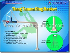 ring basket tanam, tiang tanam basket, tiang tanam bola basket, in ground basketball, ring basket rumah, ring basket garasi, backboard basketball, backstop basketball, planted basketball goal, papan pantul basket akrilik