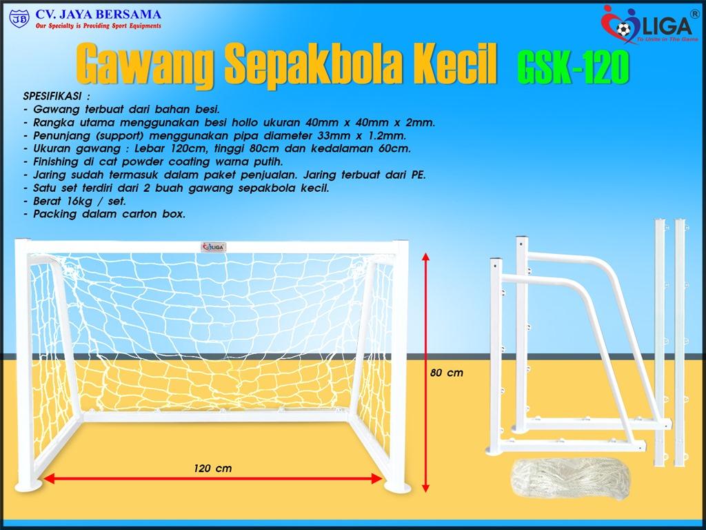 Gawang Sepakbola Kecil GSK-120 (Mini Portable Soccer Goal ...