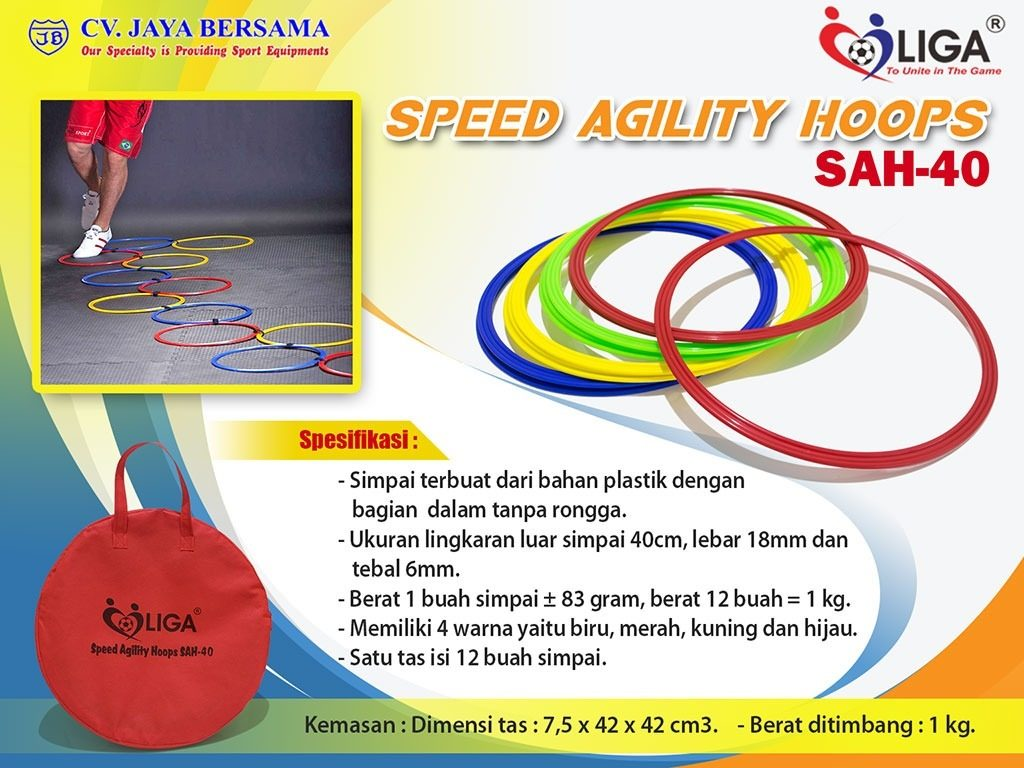 simpai ketangkasan, simpai kecepatan, lingkaran kecepatan, speed agility, hoop agility, atletik kid, atletik kit, kids athletics, peralatan olahraga anak, poa, speed agility hoop